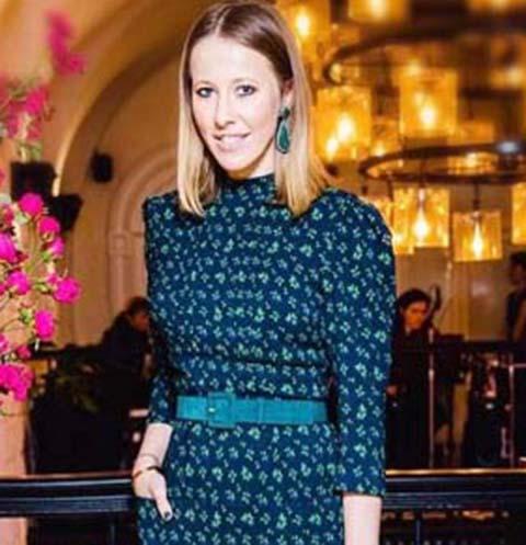 Ксения Собчак погуляла на дне рождения Натальи Водяновой в Париже