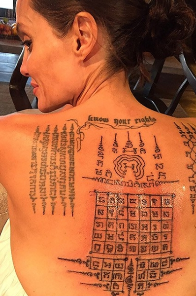 Новые татуировки не помогли Анджелине Джоли и Брэду Питту сохранить брак