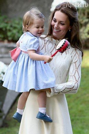Герцогиня Кэтрин рассказала о трудностях своего материнства