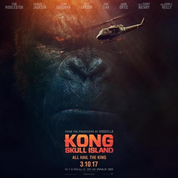 Финальный трейлер фильма «Конг: Остров черепа» за сутки собрал 2 млн. просмотров