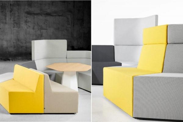Модульный диван снеограниченным количеством вариантов