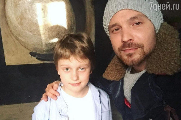 Алексей Чадов показал 11-летнего сына