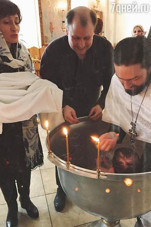В семье Татьяны Васильевой отпраздновали крестины