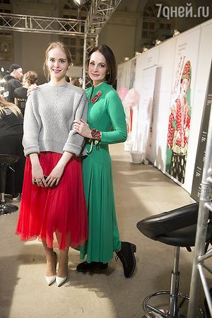 ВИДЕО: Евгения Крюкова дебютировала на Неделе моды
