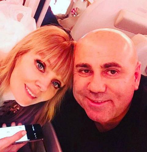 Валерия и Иосиф Пригожин отметили годовщину знакомства в Риме