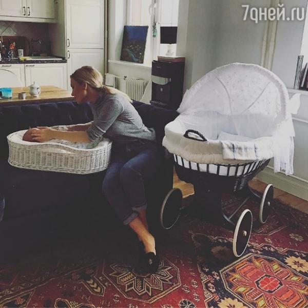 Катя Гордон показала первое фото младшего сына