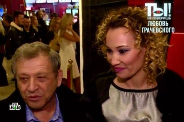 Борис Грачевский хочет, чтобы его жена пробилась в кино
