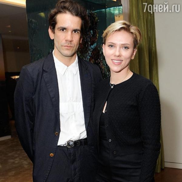 Скарлетт Йоханссон воссоединилась с супругом!
