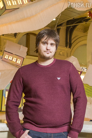 Александр Домогаров-младший похудел на 15 килограммов