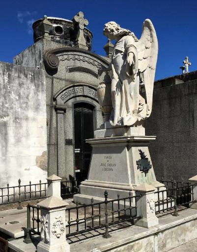 Екатерина Колисниченко ищет любовь на кладбищах Аргентины