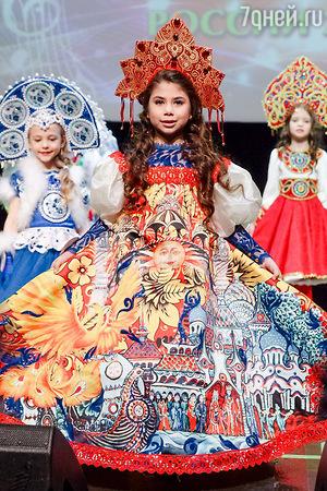 Дочь Елены Борщевой вышла на подиум