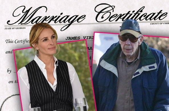 Джулия Робертс проигнорировала свадьбу отчима-гея