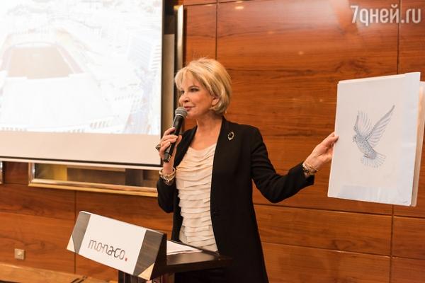 Ольга Погодина едет в гости к принцу Монако