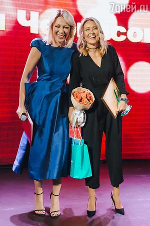 Наталья Бочкарева появилась на вручении премии в провокационном наряде
