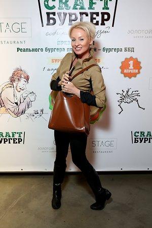 Жанна Эппле и Елена Борщева побывали на дегустации правильных бургеров
