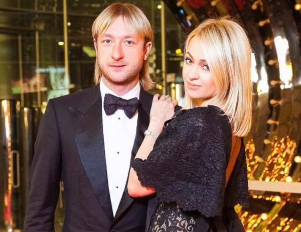 Яна Рудковская отказалась комментировать решение Евгения Плющенко о завершении карьеры