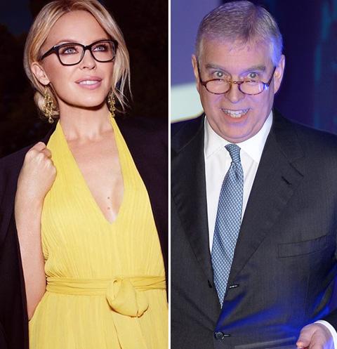 Кайли Миноуг приписали страстный роман с принцем Эндрю