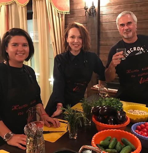 Альбина Джанабаева и Валерий Меладзе восхитили семейной идиллией