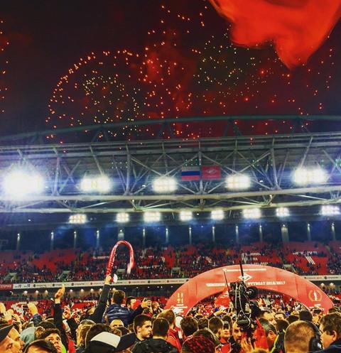 Чемпионство «Спартака»: Сеть взорвали кадры настоящего безумия на поле