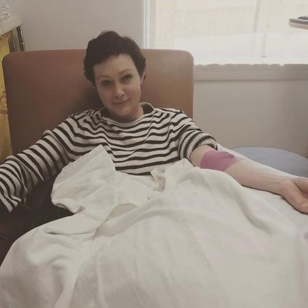 Шэннен Доэрти сообщила о ремиссии болезни