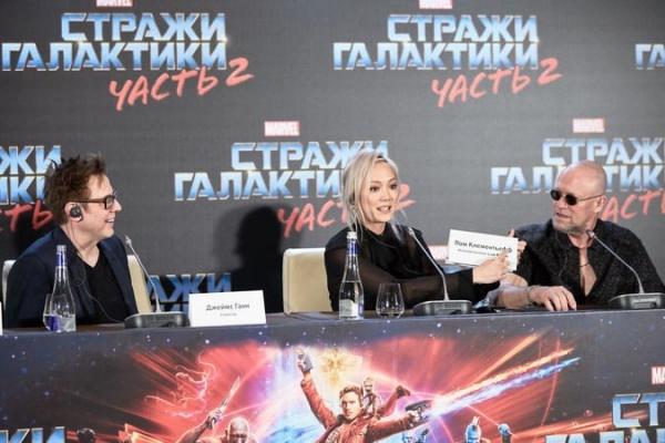 Вторая часть «Стражей Галактики» заработала в российском прокате более 1 миллиарда рублей