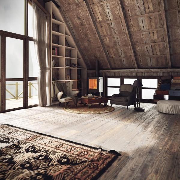Жизнь под крышей: как обустроить мансарду? Советы дизайнера Марии Боровской