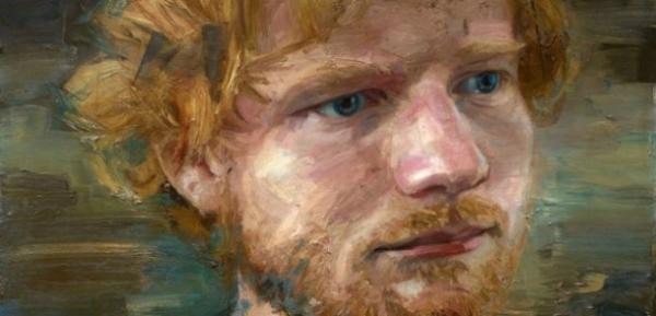 Портрет Эда Ширана будет находится в Национальной галерее в Лондоне