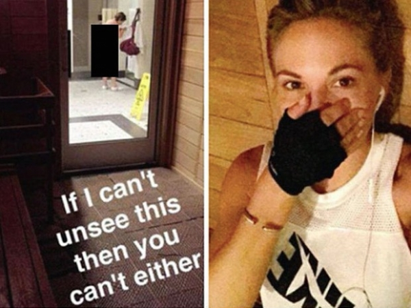 Дани Матерс осуждена за скандальное фото из раздевалки спортклуба