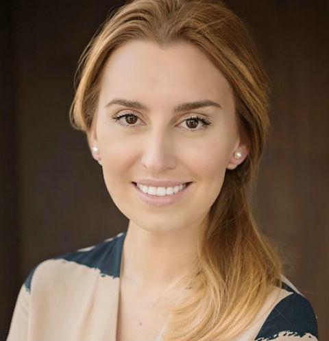 Диана Ходаковская крестила дочь