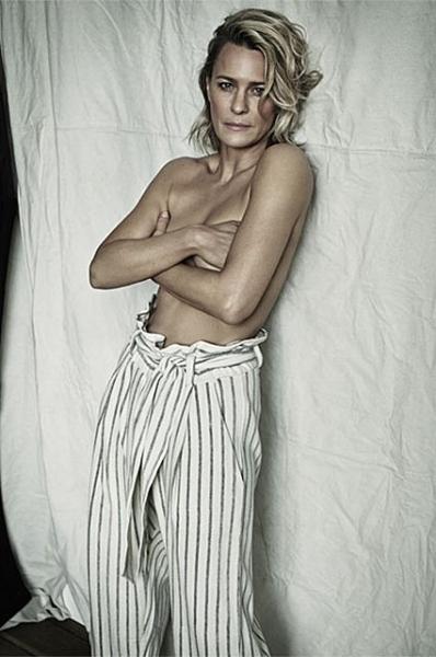 51-летняя актриса Робин Райт снялась обнаженной