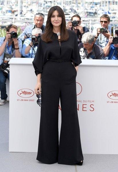 Моника Беллуччи появилась на Каннском кинофестивале в стильных нарядах
