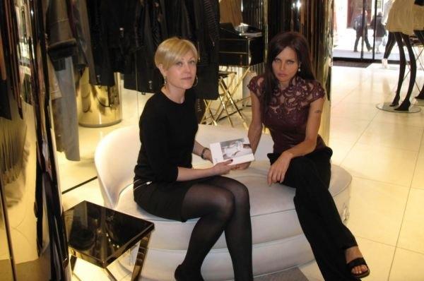Елена Галицына отправилась в весеннее рандеву с известным модельером