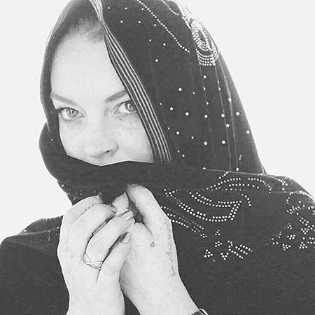 Линдси Лохан поздравила поклонников с наступлением Рамадана