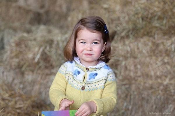 Герцог и герцогиня Кембриджские поделились новой фотографией принцессы Шарлотты
