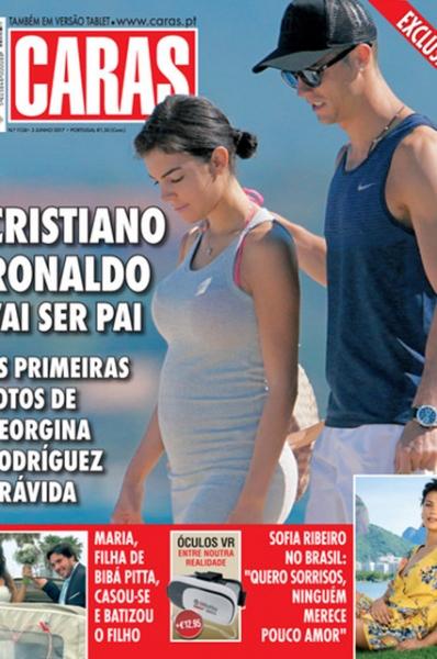 СМИ опубликовали доказательства беременности возлюбленной Криштиану Роналду Джорджины Родригез