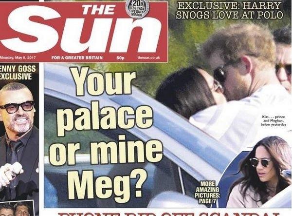 Принц Гарри выражает свои чувства к Меган Маркл на публике