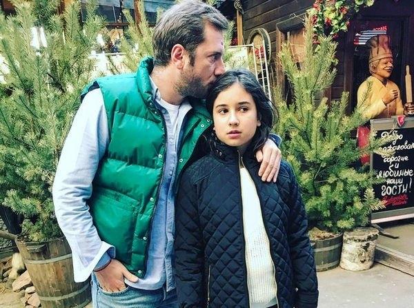 Резо Гигинеишвили опубликовал фотографию с дочкой