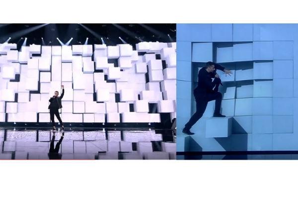 Участника «Евровидения» обвинили в плагиате номера Сергея Лазарева