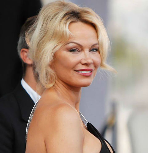 pamela anderson with another person the result of plastic surgery