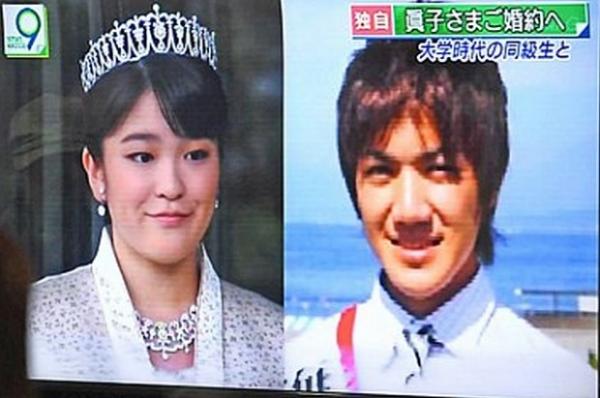 Японская принцесса Мако собирается отречься от титула ради свадьбы с простым человеком