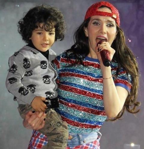 Наталью Орейро гложет чувство вины из-за сына