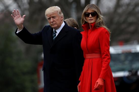 Мелании Трамп понравился твит, посвященный ее «ненависти к мужу»