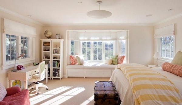 Подбираем шторы для эркера— интересные идеи исоветы