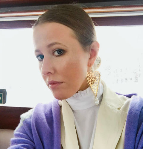 Son of Ksenia Sobchak and Maxim Vitorgan has grown significantly
