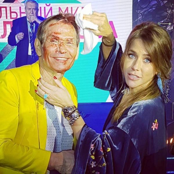Бари Алибасов зажег на юбилее с бывшей избранницей