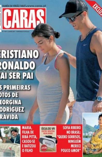Девушку Роналду поздравляют с беременностью
