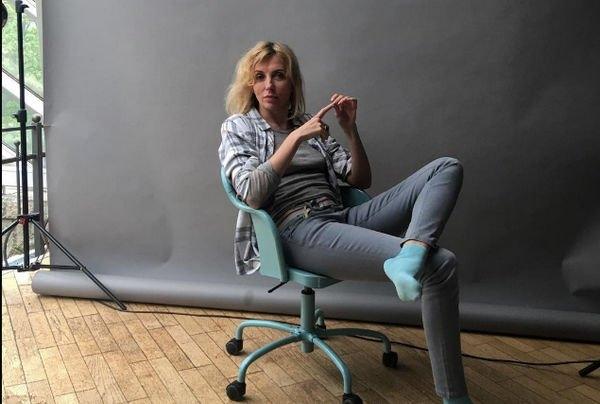 Светлана Бондарчук показала стройные ноги