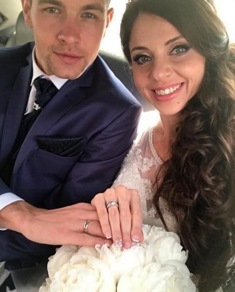Ольга Рапунцель и Дмитрий Дмитриенко сыграли свадьбу