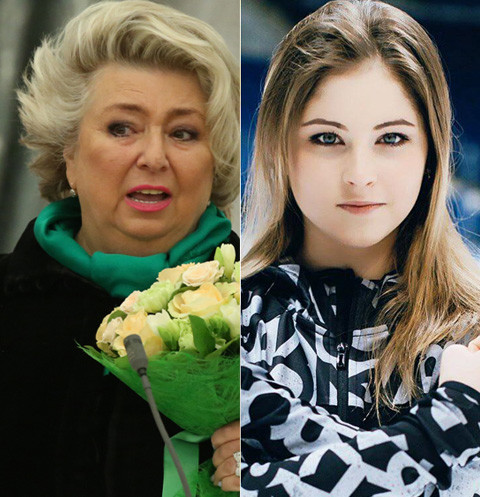 Татьяна Тарасова не верит в будущее Юлии Липницкой