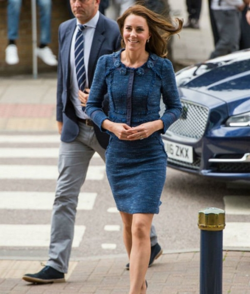 Кейт Миддлтон пошла против установленных правил в выборе наряда